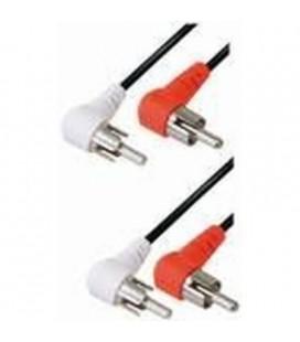 Cable 2rca M 90º - 2rca. E-A4w