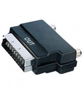 Adaptador euroconector macho a 3 RCA hembra (salida)
