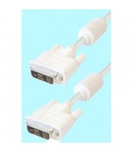 Cable de DVI macho 18+5 pin a DVI macho 18+5 pin