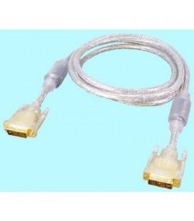 Cable DVI macho 18+5 pin a DVI macho 18+5 pin, 2 metros