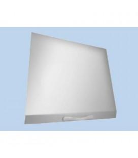 Tapa abatible vitrocerámica color blanco