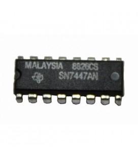 Circuito Integrado SN7447AN, DIP-16, 15V decodificador