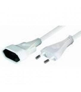 Prolongador 5m blanco