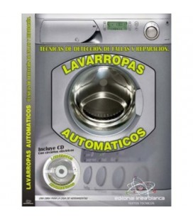 Libro averias lavadoras automaticas incluye CD-ROM