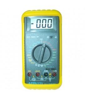 Polimetro digital frecuencia 2KHZ-200KH z, resolucion 1HZ, test de diodos, acustico y disp lay de 2000 CUENTAS. AUTO-POWER off