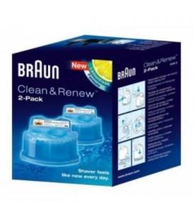 Cartucho limpiador 5331 afeitadoras Braun CCR2