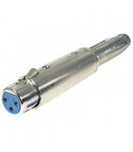 Adaptador 6,3 Mono H - Cannon H
