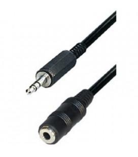 Cable conexión jack macho a jack hembra 2,5 metros
