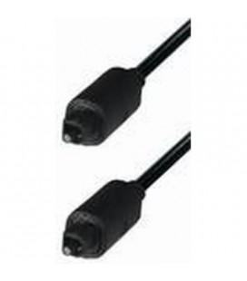 Conexión cable de fibra óptica tipo Toslink 3,5