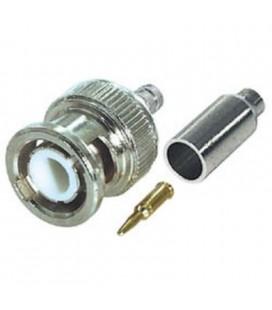 Conector bnc crimpear para RG59U