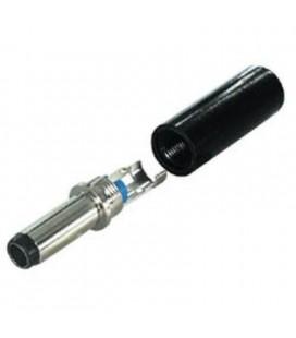Conector macho para alimentación 7mm x 1mm