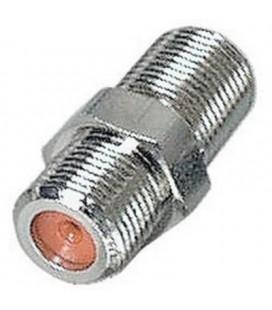 Adaptador conector F hembra a F hembra