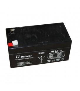 Bateria Plomo 12v-3.3a