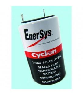 Bateria De Plomo Redonda 2v 5a