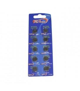 Pila litio botón formato LR54 Fersay, 10 unidades