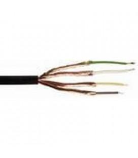 Cable Tipo Bf 4 X 0,14 Mm, Bobina De 100 Metros