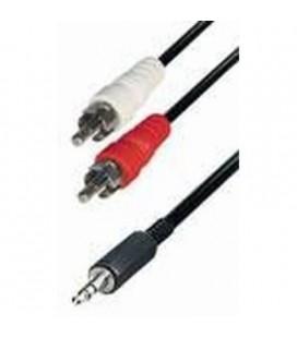 Cable de 2RCA macho a jack macho 3 metros