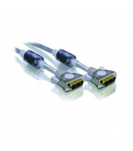 Cable DVI macho 24+1 pin a DVI macho 24+1 pin