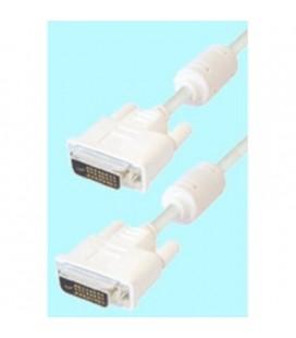 Cable de DVI macho 24+1 pin a DVI macho 24+1 pin, 3 metros