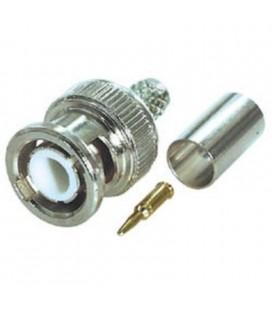 Conector tipo BNC crimpear para RG58U