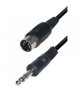 Cable Din 5p 180º - Jack 6,3 St M 1,5m E-A36