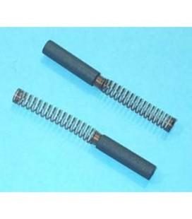Escobilla motor eléctrico 5 x 18/21 mm