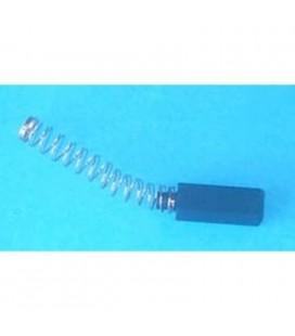 Escobilla para motor eléctrico 5 x 6 x 15/18,5 mm