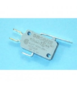 Microrruptor microondas 10A con palanca
