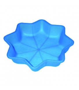 Molde silicona con forma de estrella