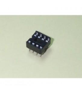 Zocalo 8 pin paso 2,54MM