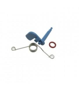 Conjunto muelle, leva, junta cajón detergente lavavajillas Bosch 166630