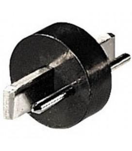 Adaptador punt/raya m - punt/raya h