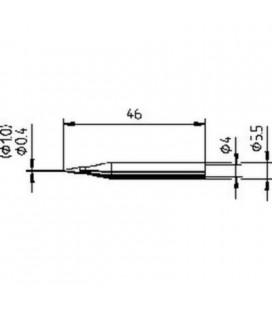 Punta soldadora 1,6mm