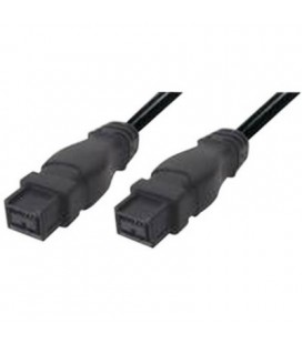 Cable ordenador IEEE1394B BETA macho - IEEE1394B BETA macho , negro 1,8M