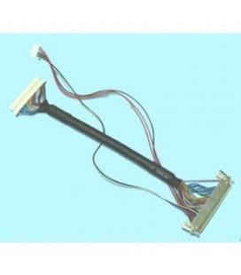 Mazo cables conexion lvds, 3 conectores, 25C a 20C+5C