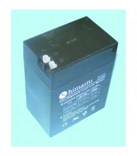 Bateria plomo 6V-16A 139X108 para patinete