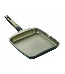 Grill para inducción cuadrada 22 cm Bra Terra