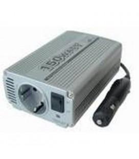 Convertidor- adaptador cc/ca, entrada 12-13,8V, 9,7 -15A cc, salidas 230V ca rms MAX.150W