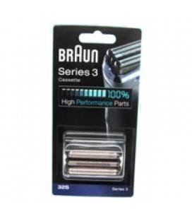 Cuchilla afeitadora Braun series 3, 320, 330