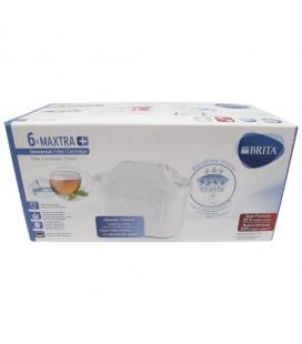 Filtros depuradores de agua para jarra Brita Maxtra 6 unidades