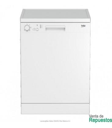 Beko lavavajillas clase a+ blanco DFN05210W