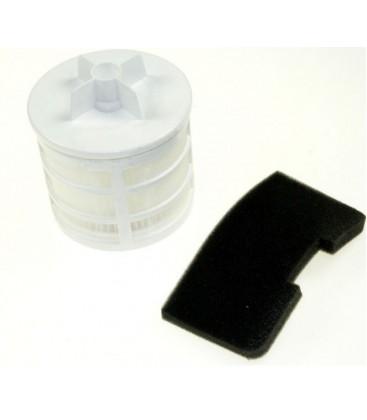 Conjunto filtro pre-motor y filtro de salida aspirador Hoover