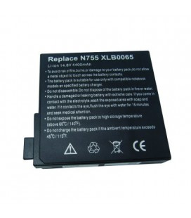 Bateria ordenador portatil 14.4(14.8)V/4400mAh,65Wh, FUJITSU SIEMENS, UNIWILL 755
