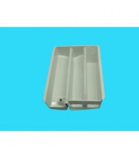 Cajón detergente lavadora Haier HBF600T, 0020202589