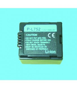 Batería para cámara vídeo Panasonic Hitachi 7.2v 1300 Mah