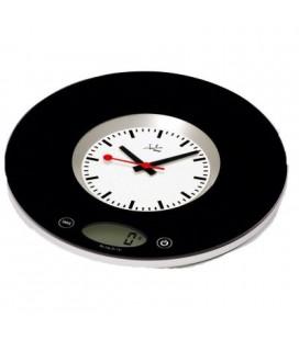 Balanza cocina con reloj Jata 724