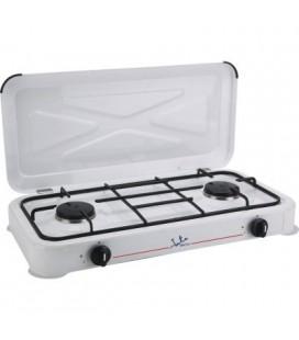 Cocina gas camping 2 fuegos Jata CC305N