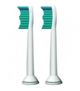 2 cabezales recambio Philips para Sonicare Easy Clean, HealthyWhite y FlexCare