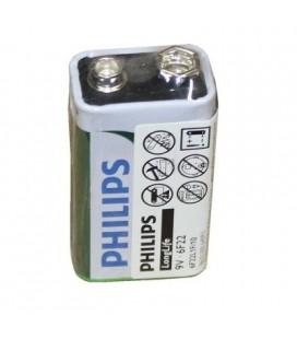 Blister de pila salina longlife Philips 6F22 9V