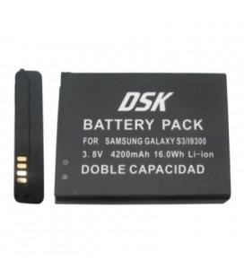 Batería para smartphone Samsung Galaxy S III doble 4200 mah